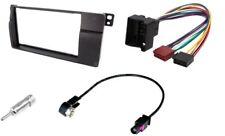 Kit RADIOBLENDE BMW 3 E46 ISO + Adaptateur d'antenne 2 DIN