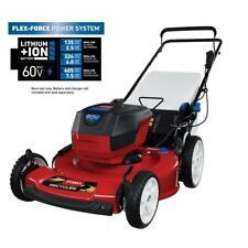 Toro Push Lawn Mower 22 in. 60-Volt Lithium-Ion Cordless Battery Walk Behind