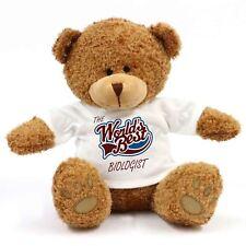 The Worlds Best Biologist Teddy Bear