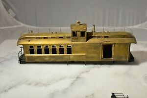 """PSC BRASS ON3 DRGW 215 """"Pagosa"""" combine car NO RESERVE"""