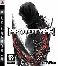 Prototype Sony Playstation 3 No Cover Art