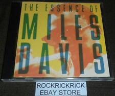 MILES DAVIS - THE ESSENCE OF MILES DAVIS -5 TRACK CD- COLUMBIA/LEGACY LEGESS008