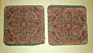 NEW Beautiful Set of 2 Vintage Ralph Lauren Great Barrington Paisley Wash Cloths