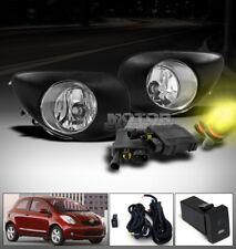 06 07 08 TOYOTA YARIS 2/3DR HATCHBACK BUMPER JDM CHROME FOG LIGHT LAMP+3000K HID