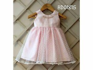 Pretty Originals Girls  PARTY Dress  BD01815   AGE 18m 2y 3y PINK U