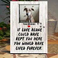 Pet loss frame, Personalised Dog-Cat memorial, Cat memorial, Memorial Plaque