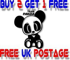 Team Panda  :) VINYL STICKER DECAL VAN CAR COLOUR DUB JDM