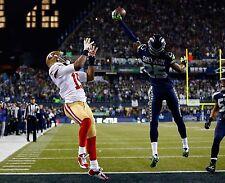 RICHARD SHERMAN SEATTLE SEAHAWKS 2014 NFC CHAMPIONSHIP NFL FOOTBALL 8X10 PHOTO