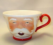 Department 56 Candle Holder Mug Santa Taper Christmas