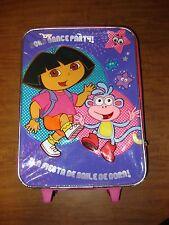 DORA EXPLORER kids pink suitcase Nickelodeon La Fiesta De Baile Dance Party OG