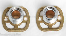 Exposed Thermostatic Shower Bar Valve Easy Fit Shower Fixing Kit Pair EFK001