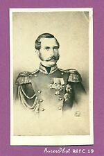 CDV C.J : EMPEREUR DE RUSSIE TSAR ALEXANDRE II ROMANOV EN BUSTE MÉDAILLE Réf C19