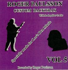 ROGER PAULSSON'S 'SHADOWS STYLE' BACKING TRACKS CD  Vol.5  With & without lead.