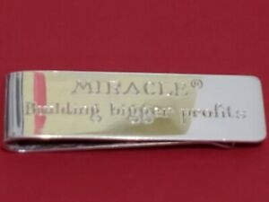 """TIFFANY & CO. Sterling Silver """"MIRACLE"""" Money Clip"""