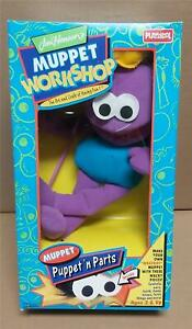 PLAYSKOOL Muppet Workshop Puppet N Parts Make Your Own Monster New 1993 Purple