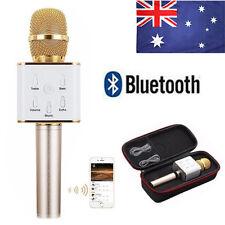 Q7 Wireless Bluetooth Handheld KTV Karaoke Stereo Mic Microphone Speaker Player