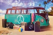 VW Camper : Party - Maxi Poster 61cm x 91.5cm (new & sealed)