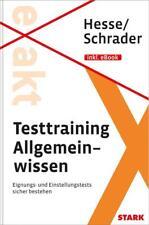 Hesse/Schrader: EXAKT - Testtraining Allgemeinwissen   Buch
