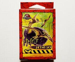 Vintage 2001 Jurassic Park III Pterror Sky 50-Piece Mini Puzzle *NEW* RARE HTF