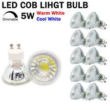 GU10 LED Spotlight Bulbs Dimmable 220V 5W Ultra Bright COB Lamp Replace Halogen