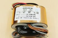 ZEROZONE R-Core transformer 30VA 0-115V-230V To 0-15V/1A*2 For Headphone amp