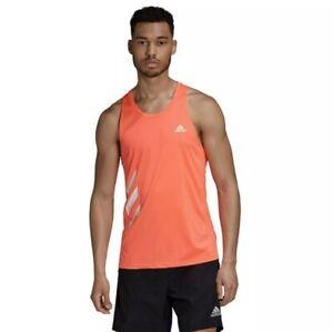Adidas Mens Running Singlet GC7896 Size M