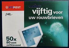 Gesloten Mailer HB 1746b VIJFTIG voor uw rouwbrieven Hangverpakking LASTIG !