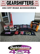 Dobinsons Tuff Gear 4WD 4X4 Off Road Winch Recovery Kit Snatch Strap Ten Piece