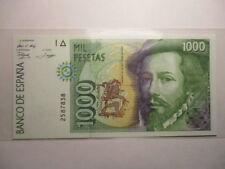 BILLETE DE  1000  PESETAS  1992  SIN CIRCULAR SIN SERIE