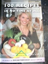 BOOK-100 Recipes in No Time at All,Anneka Rice,Chole Cheese,Anthony B