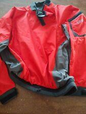 Kokatat XL x LARGE Paddling Kayak Jacket Waterproof GoreTex Red black trim