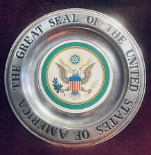 """Special Edition #152 - """"The Great Seal of The United States of America"""" Plate"""