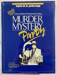 Murder Mystery Party: Death In St. James Park for 6 people - New - Free Shipping