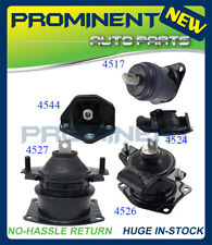 Engine Motor & Trans Mount Set For 04-06 Acura TL 3.2L Hydraulic Auto Trans 5PCS