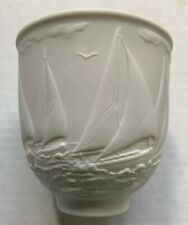 1996 Sailboats Yachting Regatta Votive Candle Holder, Lladro Collectors Society