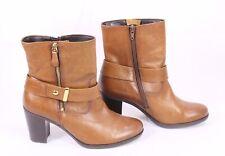 Details zu Gabor Stiefel Damen Boots Gr. DE 37 Leder braun #3a8b95b