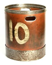 More details for vintage early/mid 20th century industrial factory/mill bin  no10