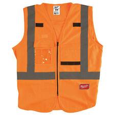 Milwaukee 48-73-5031 High Visibility Orange Safety Vest - S/M