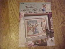 Paula Vaughan #67 Mother's Loving Hands OOP/NLA cross stitch needlepoint pattern