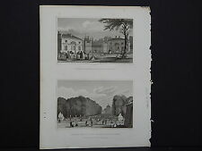 Paris and Its Environs, France, Two Steel Engravings, 1831 #18