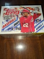 2021 Topps Series 1 Baseball 7 Pack Blaster Box - Factory sealed