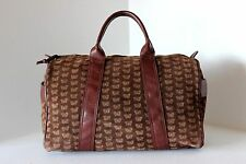 Vintage BOTTEGA VENETA Butterfly Suede SPEEDY SATCHEL BAG HANDBAG PURSE Italy