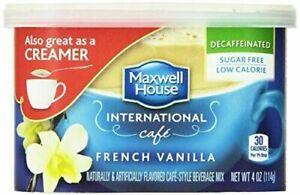 Maxwell House International Decaf Sugar Free French Vanilla Cafe - 4 oz