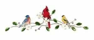Bovano - Wall Sculpture - Songbirds On Dogwood Bough