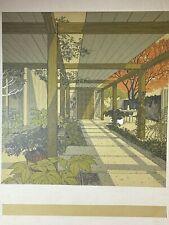 Carlos Diniz American Architectural Illustrator Serigraph Silkscreen  Art, 1928