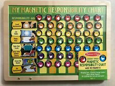 Melissa & Doug Magnetic Responsibility Chart with 90 Magnets - Sealed!