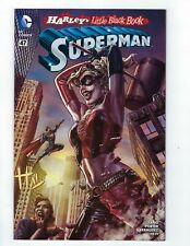 Superman # 47 Color Harley Quinn Variant Cover NM DC