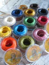 Sajou Box of 12 Fil au Chinoise Waxed Linen Thread Capsules- Modern Colours