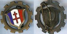 Train - Compagnie de train Forces Françaises Libres D. Ber cuivre