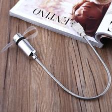 USB Power LED Clock Gooseneck Cooling Fan Gadget Summer For Home Office PC